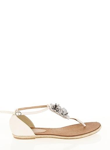 Asymmetry Sandalet Bej